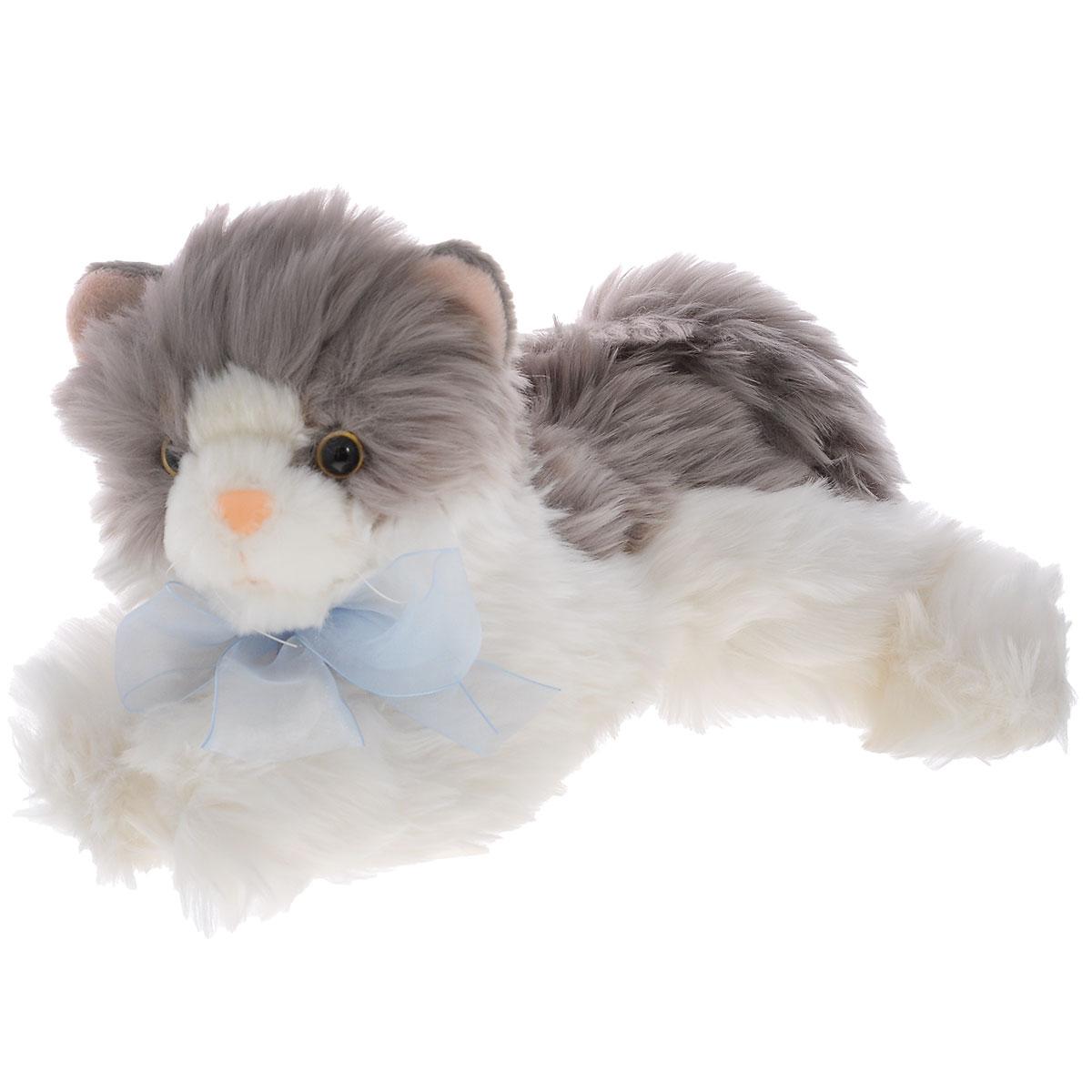 Мягкая игрушка Plush Apple Кошка с бантом, 30 смK96145B3,B6Симпатичная мягка игрушка Plush Apple Кошка с бантом привлечет внимание любого ребенка. Выполнена из безопасных материалов в виде милой кошечки с бантиком. С такой забавной игрушкой можно смело засыпать в кроватке или отправляться на прогулку. Специальные гранулы, используемые при ее набивке, способствуют развитию мелкой моторики рук малыша. Великолепное качество исполнения делают эту игрушку чудесным подарком к любому празднику.