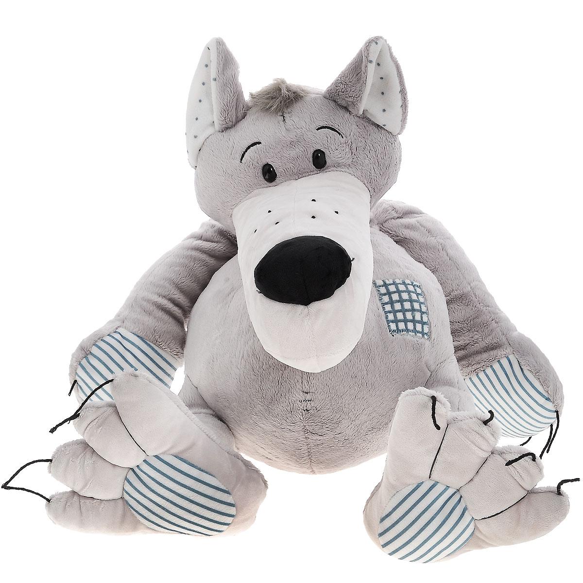 Мягкая игрушка Plush Apple Волк с заплаткой, 46 смK72087DОчаровательная мягкая игрушка Plush Apple Волк с заплаткой станет вашему малышу хорошим другом. Выполнена из приятных на ощупь и очень мягких материалов, безвредных для ребенка. Игрушка представлена в виде забавного волка с пластиковыми глазками. Специальные гранулы, используемые при ее набивке, способствуют развитию мелкой моторики рук малыша. Великолепное качество исполнения делают эту игрушку чудесным подарком к любому празднику.
