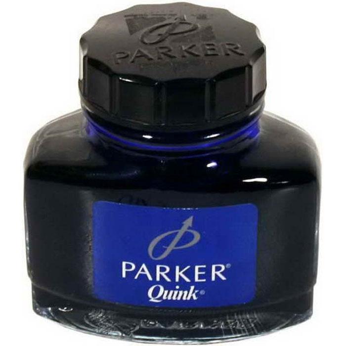 Чернила для перьевых ручек QUINK. PARKER-S0037470PARKER-S0037470Флакон чернил для перьевой ручки Паркер Нью Куинк Инк Ботлз. Для использования в перьевых ручках Паркер, чернила синего цвета. Произведено во Франции. Срок годности 4 года.