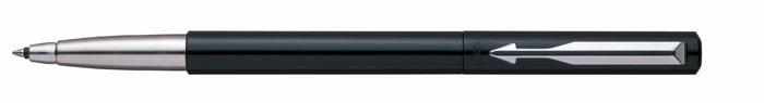 Роллер VECTOR Black. PARKER-S0160090PARKER-S0160090Ручка-роллер Паркер Вектор Стандарт Блэк. Инструмент для письма, линия письма - средняя, чернила синего цвета, в подарочной упаковке.Произведено во Франции.