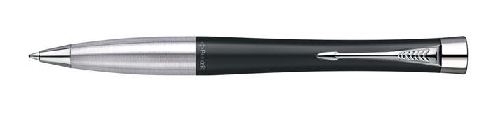 Шариковая ручка Parker Urban Muted Black CT изготовлена из ювелирной латуни с покрытием черным матовым лаком, в отделке применяется хромирование. В ручке используются стандартные шариковые стержни Parker, в комплект поставки входит один стержень синего цвета. Ручка имеет металлическую зону захвата и поворотный механизм. Средняя толщина линии. Шариковая ручка упакована в коробку с логотипом компании Parker. У изделия имеется международный гарантийный талон.Эксклюзивная ручка Parker Urban Muted Black CT подчеркнет стиль и элегантность ее владельца и станет превосходным подарком ценителю изящества и роскоши.Ручка - это не просто пишущий инструмент, это - часть имиджа, наглядно демонстрирующая статус, характер и образ жизни ее владельца.