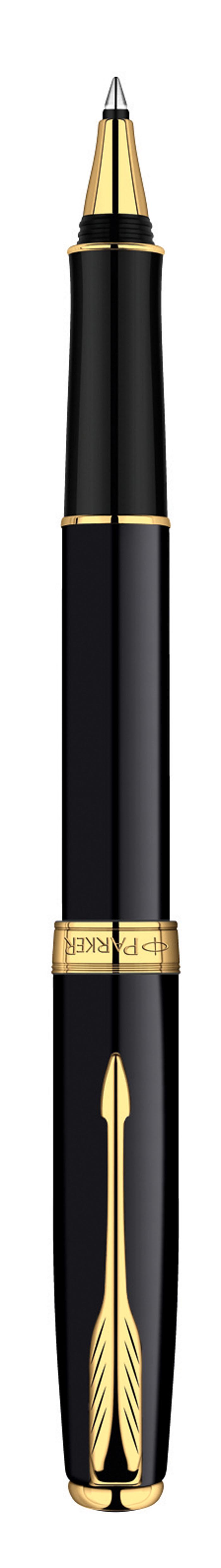 Ручка-роллер Parker Sonnet Black GT - идеальный инструмент для письма. Материал ручки - ювелирная латунь с покрытием лаком черного цвета, в отделке применяется позолота 23К. В ручке используются стандартные стержни-роллеры Parker, в комплект поставки входит один стержень черного цвета. Данный пишущий инструмент поставляется в фирменной подарочной коробке премиум-класса, что делает его превосходным подарком. В комплекте также идет гарантийный талон с международной гарантией на 2 года. Произведено во Франции.