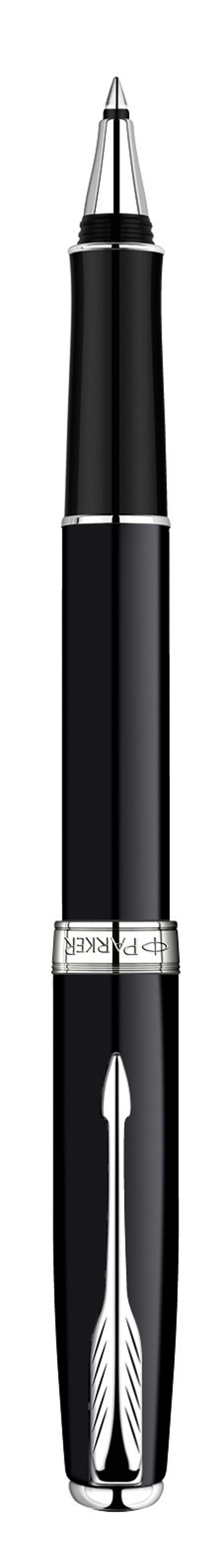 Роллер Sonnet Black Lacque CT. PARKER-S0808820PARKER-S0808820Ручка-роллер Паркер Сонет Блэк Лак Си Ти. Инструмент для письма, линия письма - тонкая, цвет чернил черный, в подарочной упаковке. Произведено во Франции.