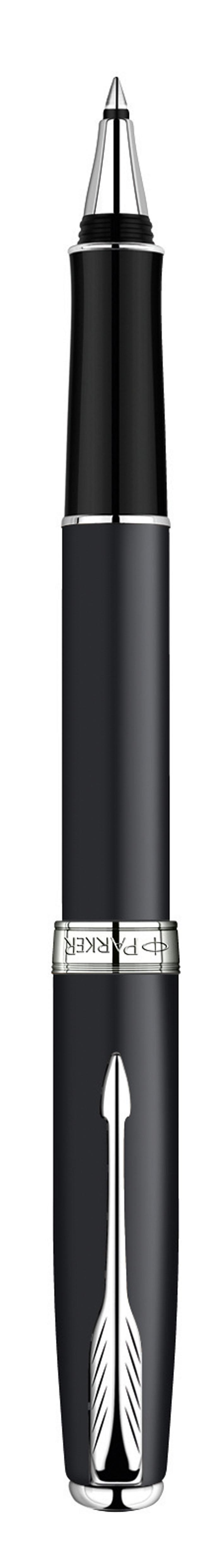 Роллер Sonnet Matte Black CT. PARKER-S0818110PARKER-S0818110Ручка-роллер Паркер Сонет Матт Блэк Лак Си Ти. Инструмент для письма, линия письма - тонкая, цвет чернил черный, в подарочной упаковке. Произведено во Франции.