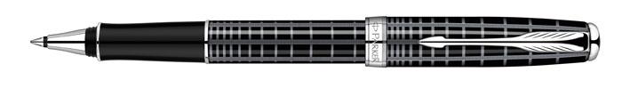 Роллер Sonnet Dark Grey Laque CT. PARKER-S0912410PARKER-S0912410Ручка-роллер «Паркер Соннет Дарк Грей Си Ти». Чернила черного цвета, линия письма – тонкая, в подарочной упаковке. Произведено во Франции.