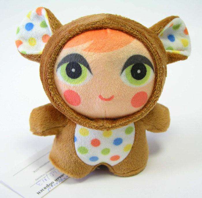 Mommy Love Глазки в глазкиCHL0\M3Идея игрушек – маленькие человечки в костюмах зверюшек. В каждом человечке имеется погремушка, в ушках «шуршалки»Могут использоваться как подвески.Реализована идея – «игрушки с большими глазами ускоряют социализацию малыша»