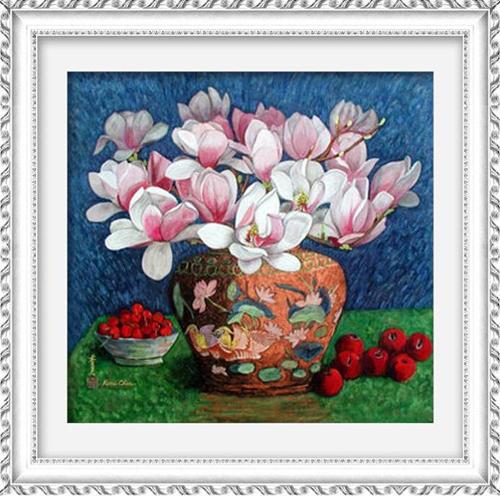 Набор для изготовления картины со стразами Cristal Нежные цветы, 50 х 48 см7713115Набор для изготовления картины со стразами Cristal Нежные цветы поможет вам создать свой личный шедевр. Работа, выполненная своими руками, станет отличным подарком для друзей и близких! В набор входит: - полотно-схема с условными обозначениями и клеевым слоем; - пластиковое блюдце; - стразы (57 цветов); - карандаш; - пинцет. УВАЖАЕМЫЕ КЛИЕНТЫ! Обращаем ваше внимание, на тот факт, что рамка в комплект не входит, а служит для визуального восприятия товара.