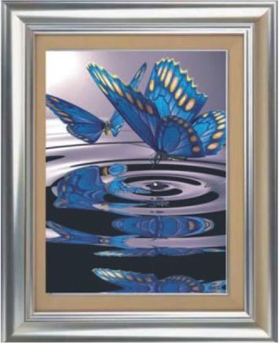Набор для изготовления картины со стразами Cristal Бабочки, 50 х 70 см7713139Набор для изготовления картины со стразами Cristal Бабочки поможет вам создать свой личный шедевр. Работа, выполненная своими руками, станет отличным подарком для друзей и близких! В набор входит: - полотно-схема с условными обозначениями и клеевым слоем; - пластиковое блюдце; - стразы (29 цветов); - карандаш; - пинцет. УВАЖАЕМЫЕ КЛИЕНТЫ! Обращаем ваше внимание, на тот факт, что рамка в комплект не входит, а служит для визуального восприятия товара.