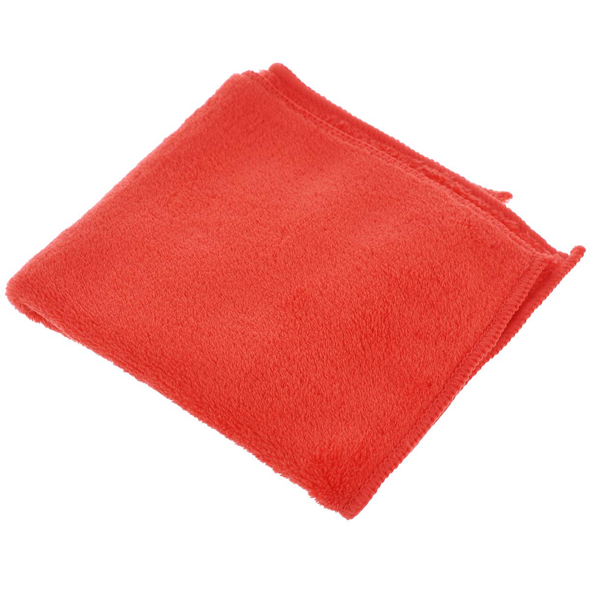 Салфетка для сухой уборки Celesta, из микрофибры, цвет: коралловый, 30 х 30 см4767_коралловыйСалфетка из микрофибры Celesta идеально подходит для сухой уборки, отлично очищает пыль на полированных поверхностях. После обработки салфеткой поверхность становится антистатической и пыль в дальнейшем на нее осаждается меньше. Состав: полиэстер 100%. Размер салфетки: 30 см х 30 см.