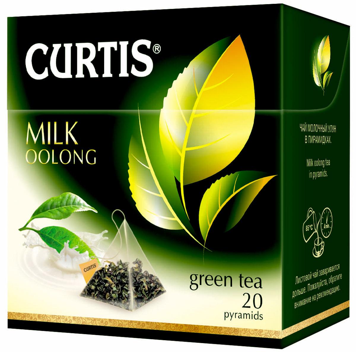 Curtis Milk Oolong чай улун в пакетиках, 20 шт510800Curtis Milk Oolong - листовой чай молочный улун с ароматом молока в пирамидках.