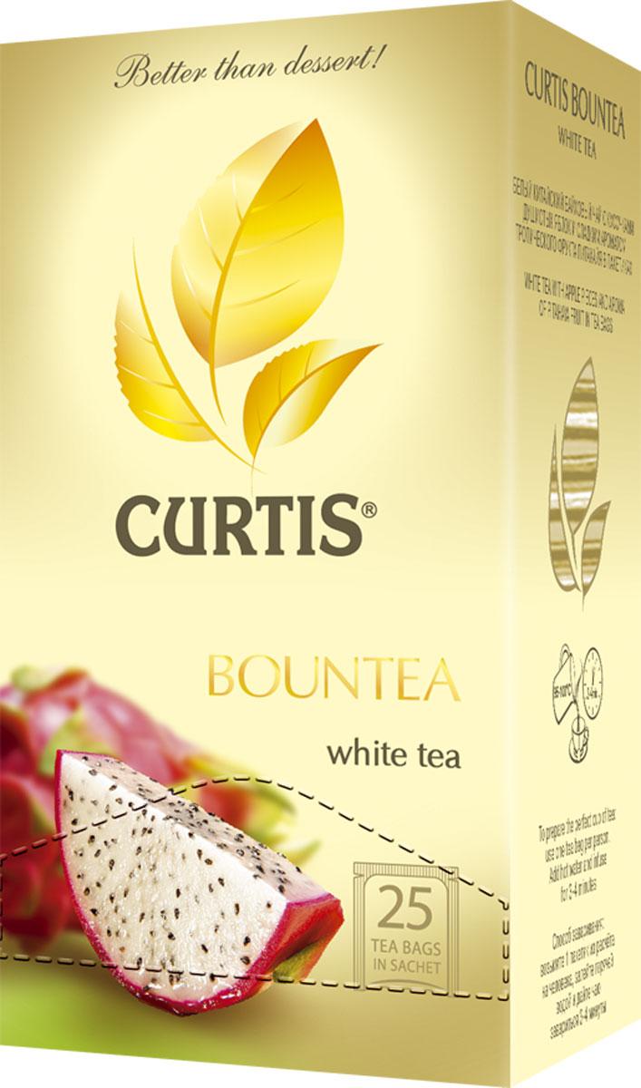 Curtis Bountea фруктовый чай в пакетиках, 25 шт514506Curtis Bountea - китайский белый чай с освежающим вкусом и волнующим тропическим ароматом. Сладкие нотки питахайи унесут вас в незабываемое путешествие на далекие экзотические острова.