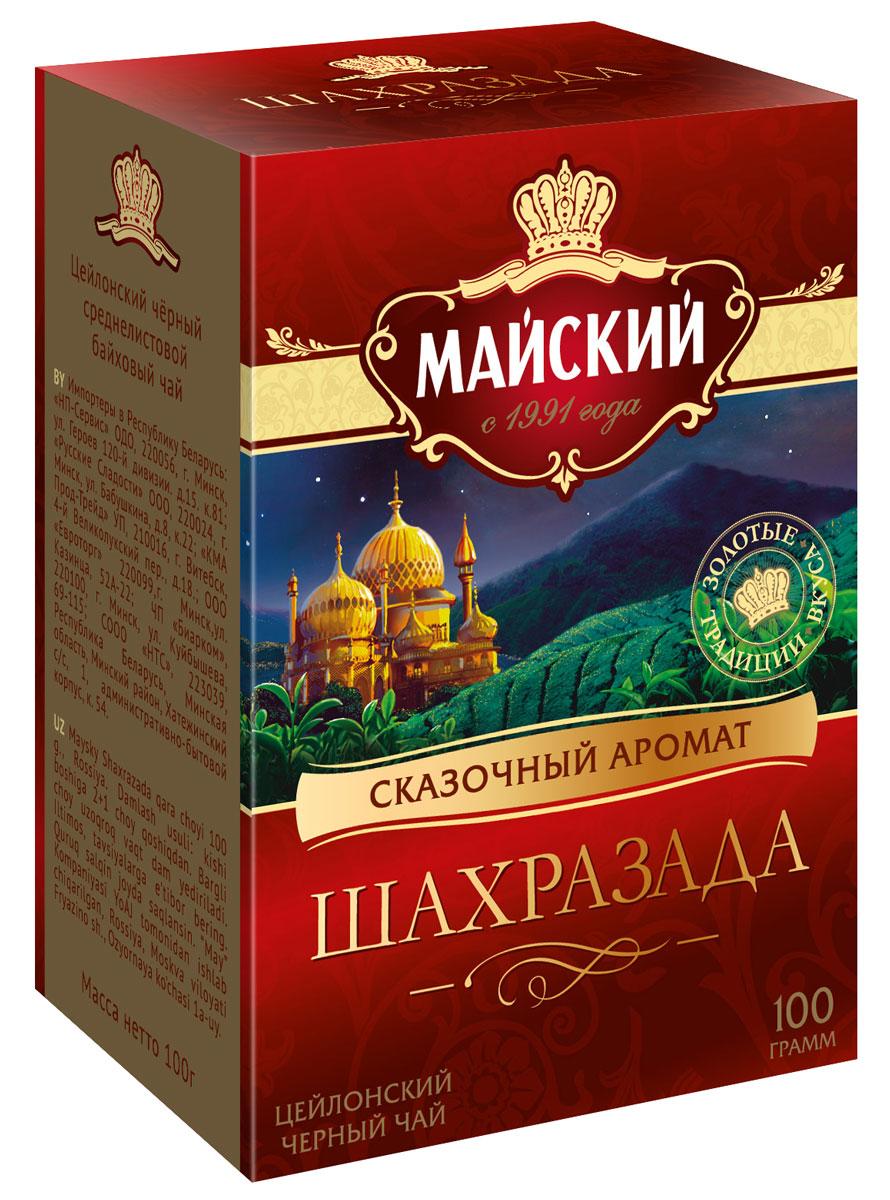 Майский Шахразада черный листовой чай, 100 г куплю дом в поселке майский белгородский район