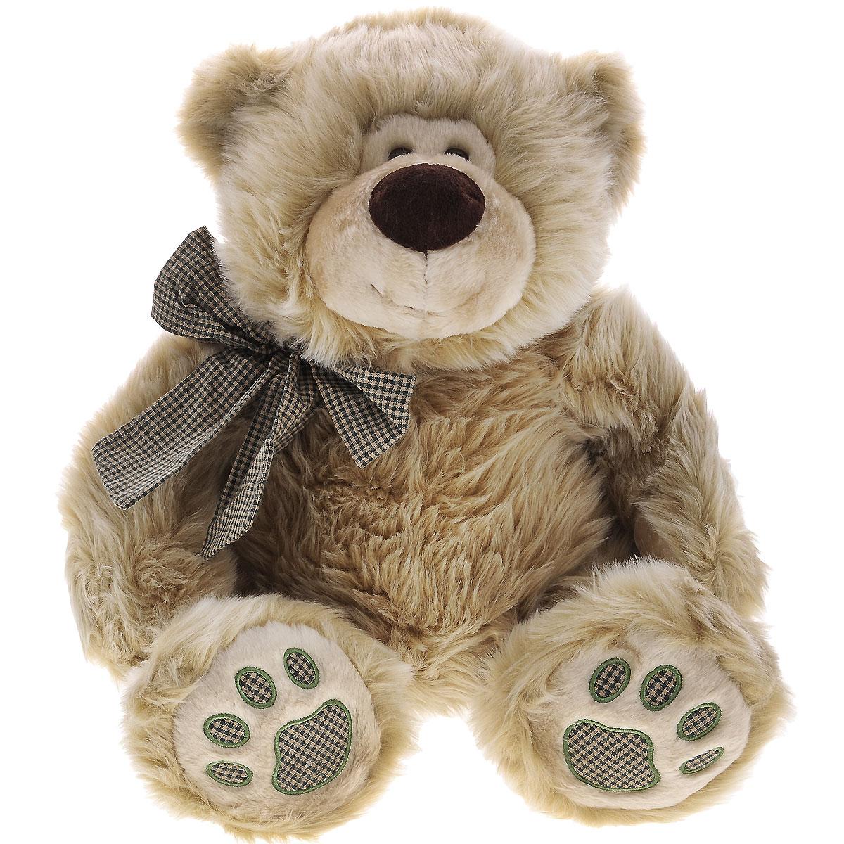 Мягкая игрушка Plush Apple Медведь с бантиком, 60 смK73148BМягкая игрушка Plush Apple Медведь с бантиком будет неизменно радовать вашего ребенка. Игрушка изготовлена из высококачественных текстильных материалов. Выполнена игрушка в виде очаровательного медведя с бантиком на шее. Удивительно мягкая игрушка принесет радость и подарит своему обладателю мгновения нежных объятий и приятных воспоминаний.