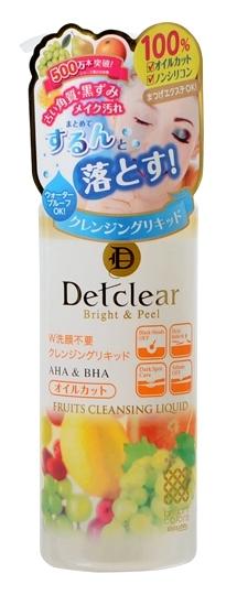 Meishoku Жидкость для снятия макияжа с AHA и BHA, 170 мл226144Жидкое очищающее средство превосходно удаляет макияж, глубоко очищает поры, оказывает мягкое отшелушивающее действие, удаляя ороговевшие клетки верхнего слоя эпидермиса, не оставляет ощущения сухости и стянутости. После использования кожа остается мягкой и гладкой. Не содержит масло и силикон, подходит для снятия макияжа с нарощенных ресниц. Хорошо удаляет плотный макияж. Не содержит искусственных красителей и спирта. Активные компоненты: АНА (альфа-гидрооксикислоты) входят в состав таких фруктовых экстрактов, как экстракты апельсина, груши, ягод черники и малины, лимона, яблока, винограда , которые известны своими очищающими, подтягивающими свойствами, сужают поры, стимулируют процессы регенерации и обновляют клетки эпидермиса. ВНА (бета-гидрооксикислоты), входящие в состав вытяжки из коры плакучей ивы, смягчают ороговевшие слои клеток эпидермиса, облегчая и ускоряя их удаление, выравнивают цвет кожи. Экстракт ферментированного сока белого винограда мягко отшелушивает ороговевшие...
