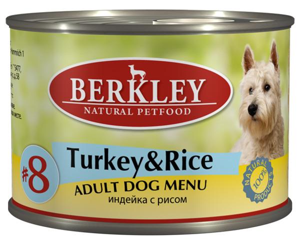 Консервы Индейка с рисом для взр. собак (#8) 75004, 200 г75004Полноценное консервированное питание для собак. Возраст: 1-8 Состав: индейка 50%, домашняя птица 17%, бульон 27,5%, рис 4%, минералы 1%, оливковое масло 0,5%. Не содержит сои, искусственных красителей, ароматизаторов и консервантов. Анализ: Протеин 11,8%, жир 6%, зола 2,3%, клетчатка 0,3%, влажность 76%, кальций 0,28%, фосфор 0,20%. Минеральные вещества: Добавки (на 1 кг. продукта): Витамин A-3.000 IE, витамин D3-200 IE, витамин E-30 мг, витамин C-80 мг, витамин B1-3 мг, витамин B2-2,2 мг, витамин B6-1,5 мг, витамин B12-75 мг, никотиновая кислота-16 мг, пантотенат кальция-9 мг, фолиевая кислота-0,25 мг, биотин-250 мкг, хлорид холина-750 мг, сульфат цинка - 60 мг, сульфат марганца-18 мг, йод -1,1 мг, селен (селенит)- 0,1 мг. Условия хранения: Хранить при температуре от 0° до 30°С. Беречь от воздейтвия прямых солнечных лучей