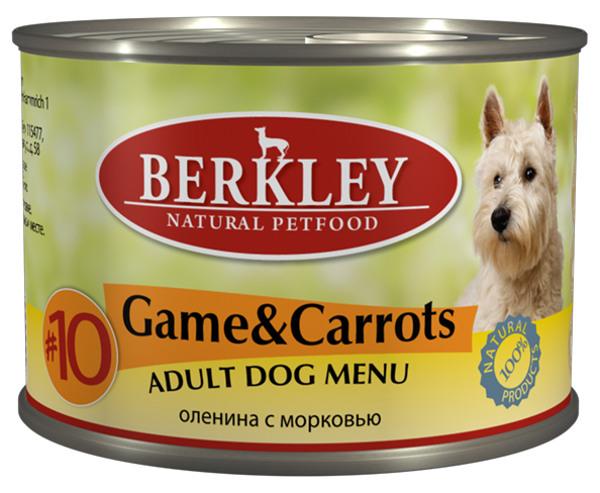 Консервы Дичь с морковью для взр. собак (#10) 75006, 200 г75006Полноценное консервированное питание для собак. Возраст: 1-8 Состав: мясо оленя 68%, бульон 27,5%,морковь 3%, минералы 1%, оливковое масло 0,5%. Не содержит сои, искусственных красителей, ароматизаторов и консервантов. Анализ: Протеин 10,1%, жир 7,2%, зола 2,2%, клетчатка 0,3%, влажность 76%, кальций 0,28%, фосфор 0,20%. Минеральные вещества: Добавки (на 1 кг. продукта): Витамин A-3.000 IE, витамин D3-200 IE, витамин E-30 мг, витамин C-80 мг, витамин B1-3 мг, витамин B2-2,2 мг, витамин B6-1,5 мг, витамин B12-75 мг, никотиновая кислота-16 мг, пантотенат кальция-9 мг, фолиевая кислота-0,25 мг, биотин-250 мкг, хлорид холина-750 мг, сульфат цинка - 60 мг, сульфат марганца-18 мг, йод -1,1 мг, селен (селенит)- 0,1 мг. Условия хранения: Хранить при температуре от 0° до 30°С. Беречь от воздейтвия прямых солнечных лучей