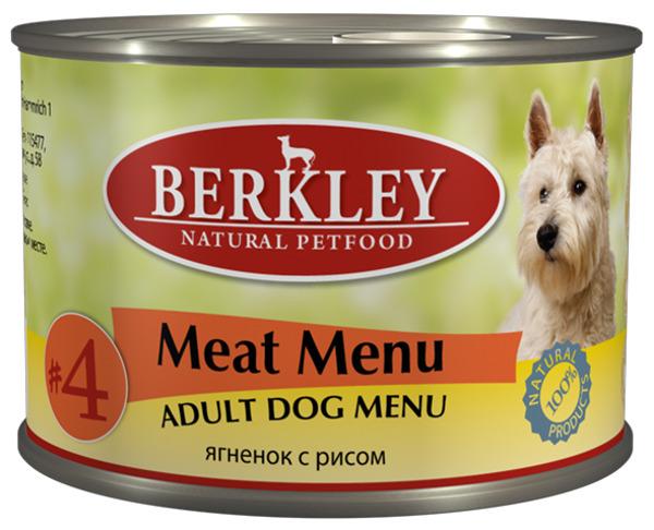 Консервы Ягненок с рисом для взр.собак (#4) 75009, 200 г75009Полноценное консервированное питание для собак. . Нежное мясо ягненка с рисом и ароматным бульоном. Возраст: 1-8 Состав: ягненок 67%, бульон 26,5%, рис 5%, минералы 1%, оливковое масло 0,5%. Не содержит сои, искусственных красителей, ароматизаторов и консервантов. Анализ: Протеин 10,0%, жир 6,5%, зола 1,9%, клетчатка 0,3%, влажность 77%, кальций 0,28%, фосфор 0,20%. Минеральные вещества: Добавки (на 1 кг. продукта): Витамин A-3.000 IE, витамин D3-200 IE, витамин E-30 мг, витамин C-80 мг, витамин B1-3 мг, витамин B2-2,2 мг, витамин B6-1,5 мг, витамин B12-75 мг, никотиновая кислота-16 мг, пантотенат кальция-9 мг, фолиевая кислота-0,25 мг, биотин-250 мкг, хлорид холина-750 мг, сульфат цинка - 60 мг, сульфат марганца-18 мг, йод -1,1 мг, селен (селенит)- 0,1 мг. Условия хранения: Хранить при температуре от 0° до 30°С. Беречь от воздейтвия прямых солнечных лучей