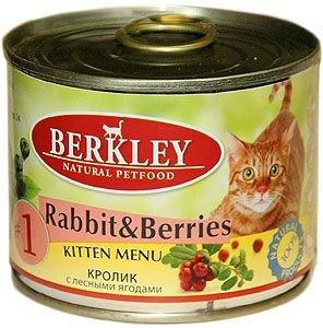 Консервы Кролик с лесными ягодами для котят (№1) 75150, 200 г75150Полноценное консервированное питание для котят. Возраст: 0-1 Состав: кролик - 40% говядина - 30% бульон - 27,5% клюква - 0,5% голубика - 0,5% витамины и минералы - 1% масло лосося - 0,5% Не содержит сои, искусственных красителей, ароматизаторов и консервантов. Анализ: протеин - 10,3% жир - 6,0% зола - 2,2% клетчатка - 0,3% влажность - 80% кальций - 0,25% фосфор - 0,2% магний - 0,02% Минеральные вещества: Добавки (на 1 кг продукта): витамин A - 3.000 IE, витамин D3 - 200 IE, витамин E - 30 мг, витамин C - 80 мг, витамин B1 - 3 мг, витамин B2 - 2,2 мг, витамин B6 - 1,5 мг, витамин B12 - 75 мг, таурин - 1500 мг, никотиновая кислота - 16 мг, пантотенат кальция - 9 мг, фолиевая кислота - 0,25 мг, биотин - 250 мкг, хлорид холина - 750 мг, сульфат цинка - 60 мг, сульфат марганца - 18 мг, йод - 1,1 мг, селен (селенит) - 0,1 мг. Условия хранения: Хранить при температуре от 0° до 30°С. Беречь от воздейтвия прямых солнечных лучей