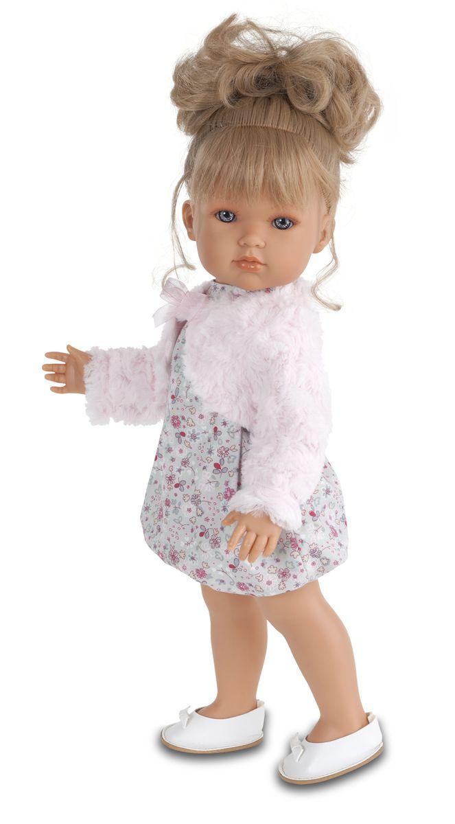Munecas Antonio Juan Кукла Белла в розовом болеро2802Новые куклы-девочки испанского производителя Мунекас Антонио Хуан. Куклы с очаровательными детскими лицами. Выразительные глаза обрамлены длинными ресницами. Густые шелковистые волосы легко расчесывать и делать различные прически. Куклы одеты в чудесные наряды, созданные испанским дизайнером.
