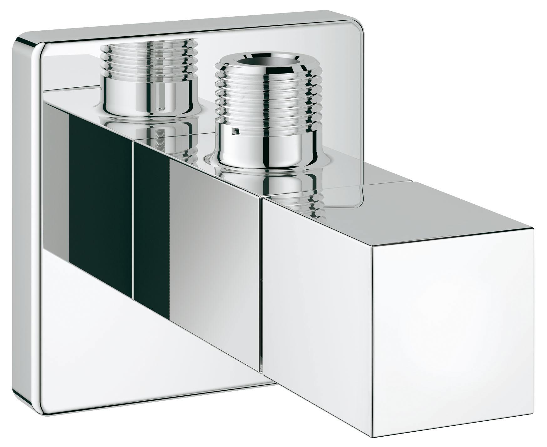 Угловой вентиль GROHE Cube для подключения смесителей 3/8