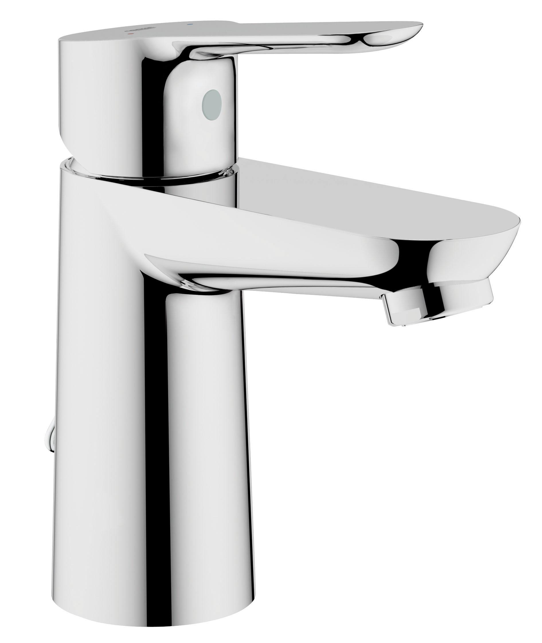 Смеситель для раковины GROHE BauEdge с цепочкой (23329000)23329000Монтаж на одно отверстие Металлический рычаг GROHE SilkMove керамический картридж 28 мм GROHE StarLight хромированная поверхность GROHE EcoJoy - технология совершенного потока при уменьшенном расходе воды Аэратор Цепочка Гибкая подводка Система быстрого монтажа Видео по установке является исключительно информационным. Установка должна проводиться профессионалами!