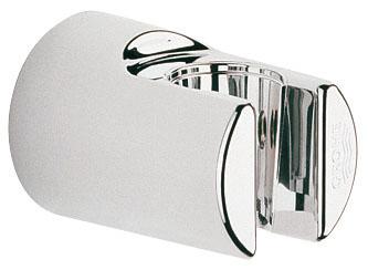 Держатель для душа Grohe Relaxa, настенный28622000Держатель для душа Grohe Relaxa изготовлен из высококачественного пластика с хромированным покрытием StarLight. Изделие крепится на стену при помощи шурупов (входят в комплект).