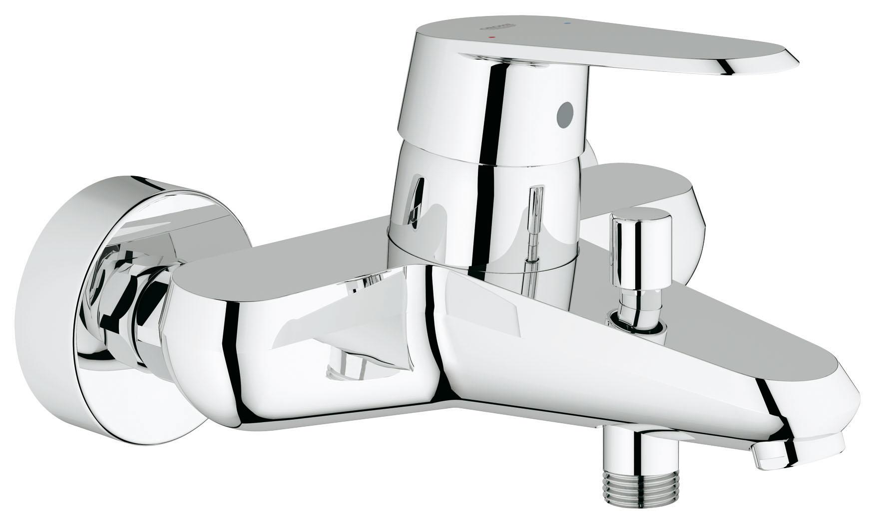 Смеситель для ванны GROHE Eurodisc Cosmopolitan (33390002)33390002GROHE Eurodisc Cosmopolitan: функциональный смеситель для ванны с лаконичным дизайном Этот однорычажный смеситель для ванны из серии GROHE Eurodisc Cosmopolitan удовлетворит всем Вашим ожиданиям и станет великолепным дополнением к оснащению Вашей ванной комнаты. Он отличается стильным и лаконичным дизайном и выпускается с хромированным покрытием GROHE StarLight. Благодаря изливу с выносом 184 мм этот смеситель настенного монтажа идеально подойдет для комплектации любой ванны. Встроенный картридж с технологией GROHE SilkMove обеспечивает плавность и легкость регулировки напора и температуры воды. Приятная и мощная струя воды позволит быстро наполнить ванну. Для мытья волос и принятия душа можно легко переключаться между изливом для наполнения ванны и душем с помощью встроенного переключателя. Перед Вами – смеситель с безупречной функциональностью для всевозможных водных процедур. Особенности: Настенный монтаж Металлический рычаг Аэратор GROHE SilkMove...