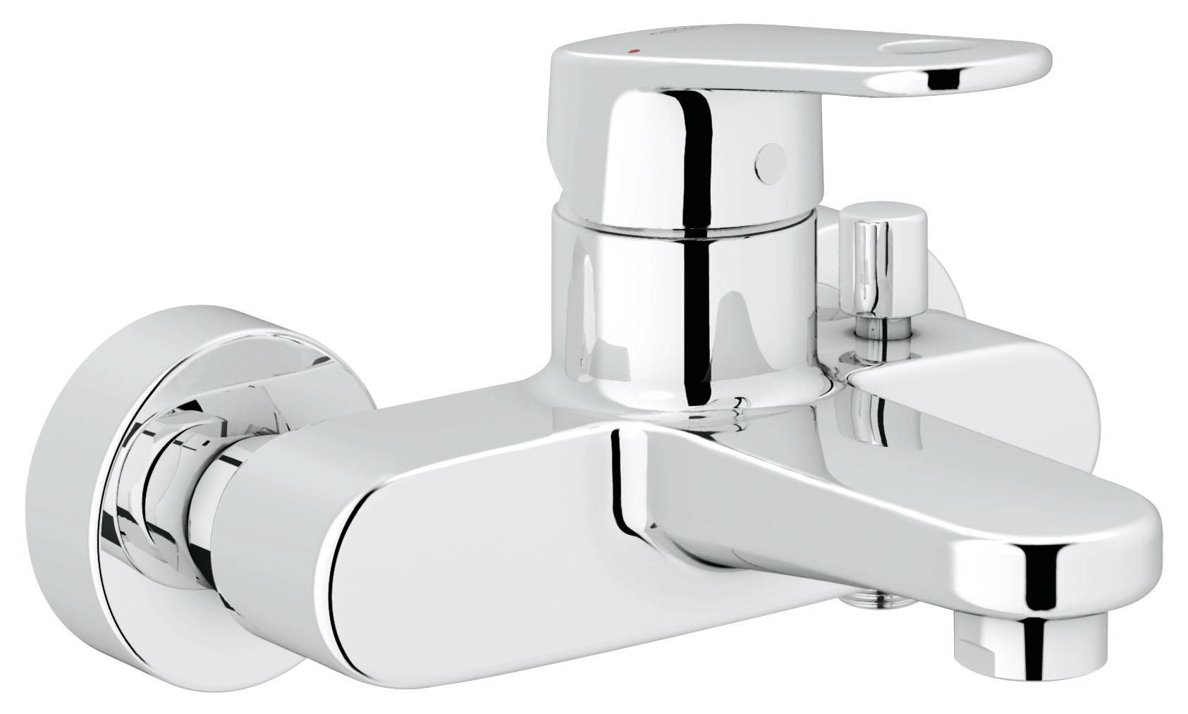 Смеситель для ванны GROHE Europlus (33553002)33553002Настенный монтаж Металлический рычаг GROHE SilkMove керамический картридж O 46 мм GROHE StarLight хромированная поверхность Регулировка расхода воды Возможность установки мин. расхода 2,5 л/мин. Автоматический переключатель: ванна/душ Встроенный обратный клапан в душевом отводе 1/2? Аэратор с функцией SpeedClean Скрытые S-образные эксцентрики Ограничитель температуры С защитой от обратного потока Видео по установке является исключительно информационным. Установка должна проводиться профессионалами!