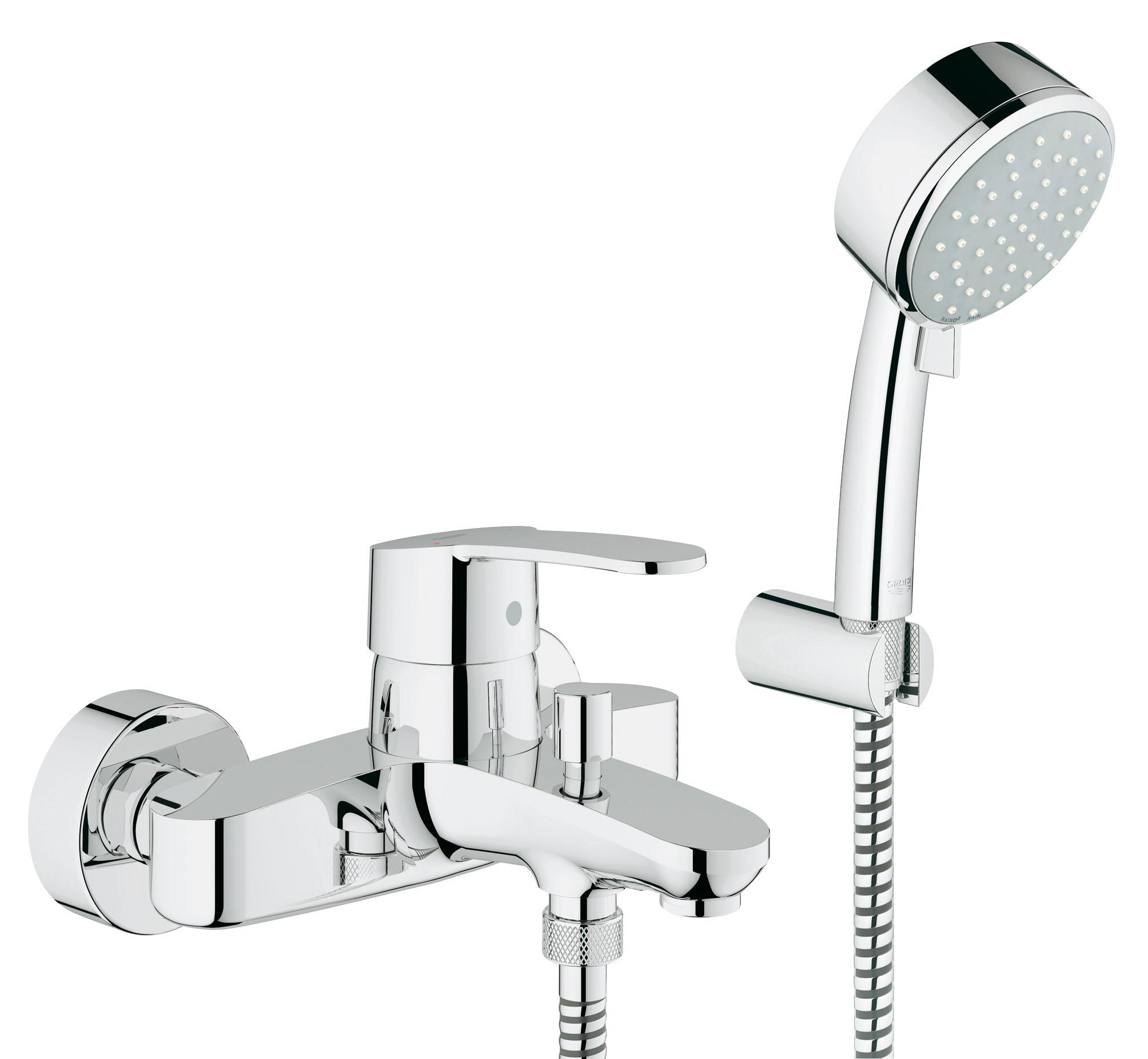 Смеситель для ванны GROHE Eurostyle Cosmopolitan с ручным душем (33592002) ( 33592002 )