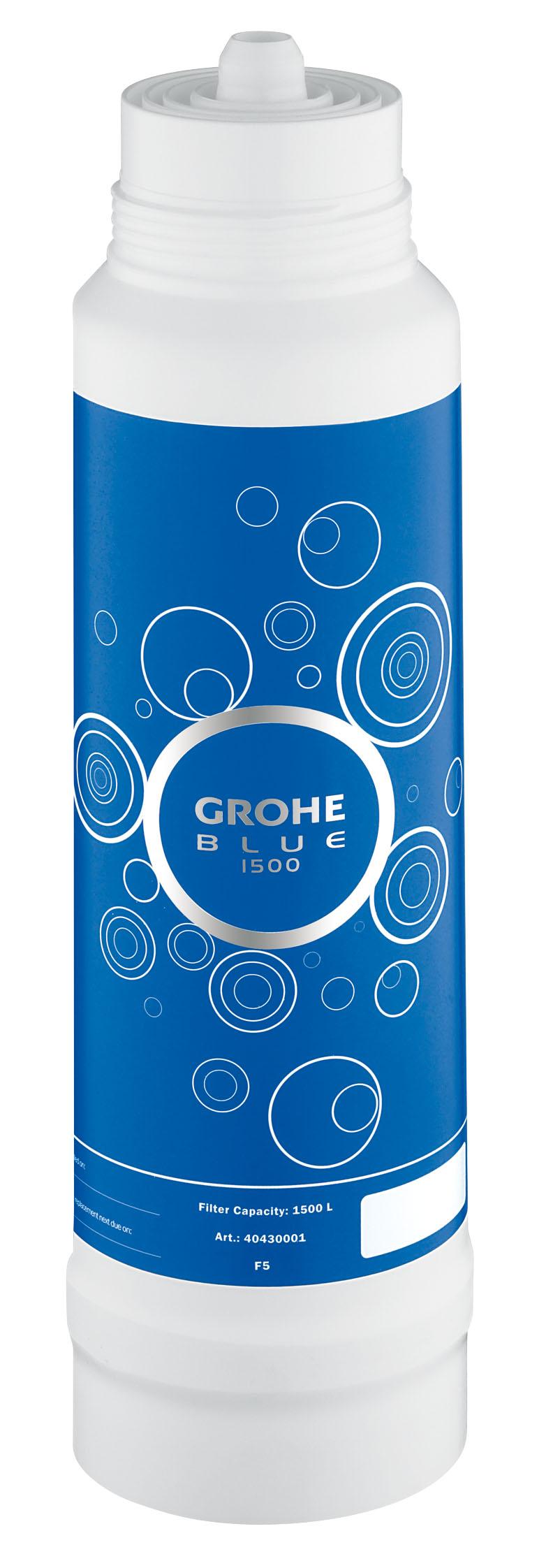 """Фильтр сменный для водных систем Grohe """"Blue"""", 1500 л. 40430001"""