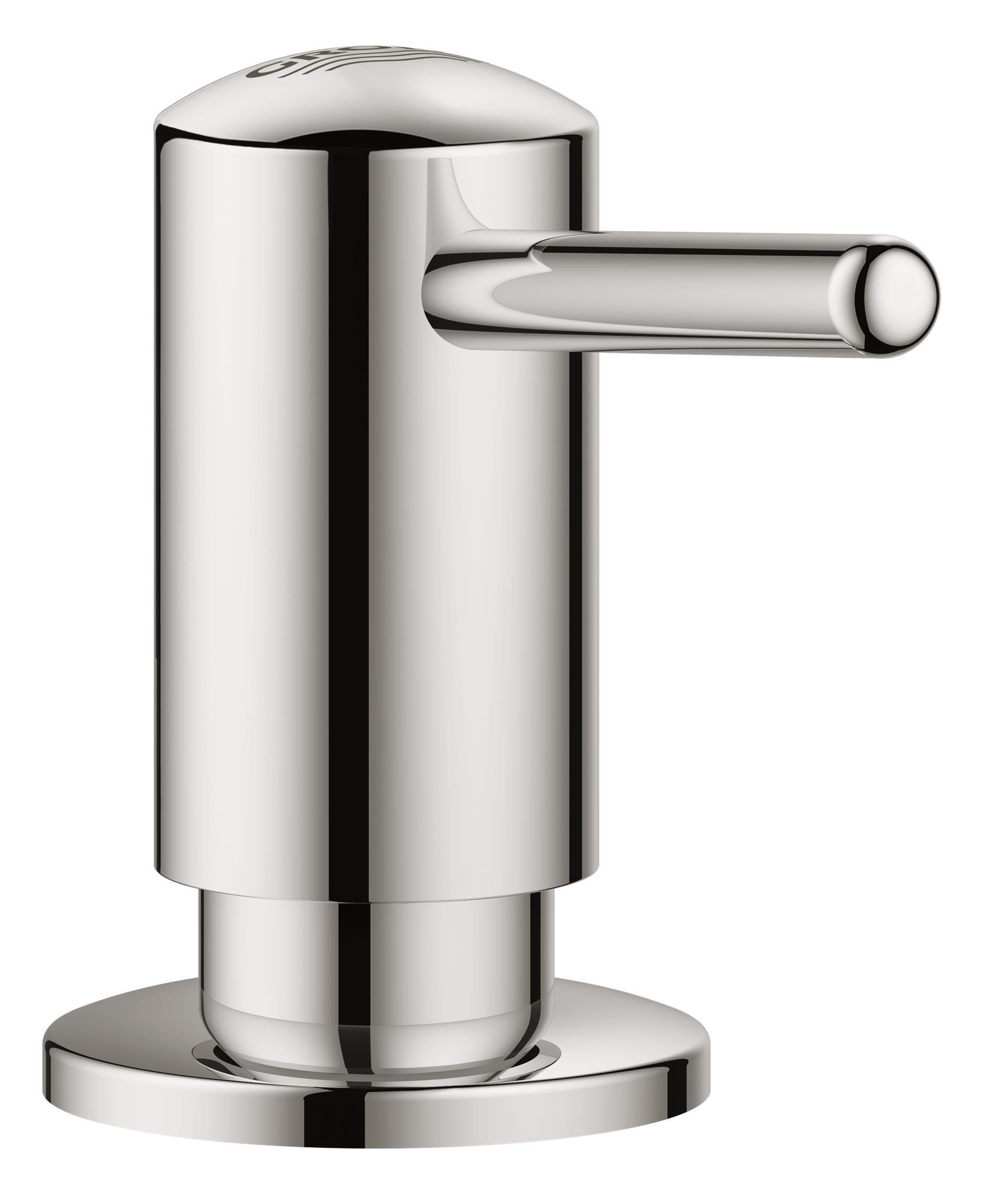 Дозатор жидкого мыла Grohe Contemporary40536000Для жидкого мыла, Запасная емкость 0,4 л GROHE StarLight хромированная поверхность