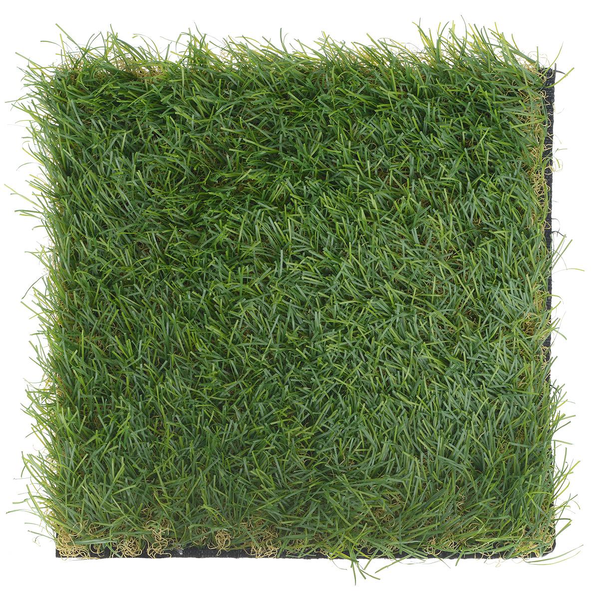 Трава искусственная для мини-сада Bloom`its, 25 см х 25 см892997Искусственная трава Bloom`its поможет создать свой собственный мини-сад. Заниматься ландшафтным дизайном и декором теперь можно, даже если у вас нет своего загородного дома, причем не выходя из дома. Устройте себе удовольствие садовода, собирая миниатюрные фигурки и составляя из них различные композиции. Объедините миниатюрные изделия в емкости (керамический горшок, корзина, деревянный ящик или стеклянная посуда) и добавьте мини-растения. Это не только поможет увлекательно провести время, раскрывая ваше воображение и фантазию, результат работы станет стильным и необычным украшением интерьера.