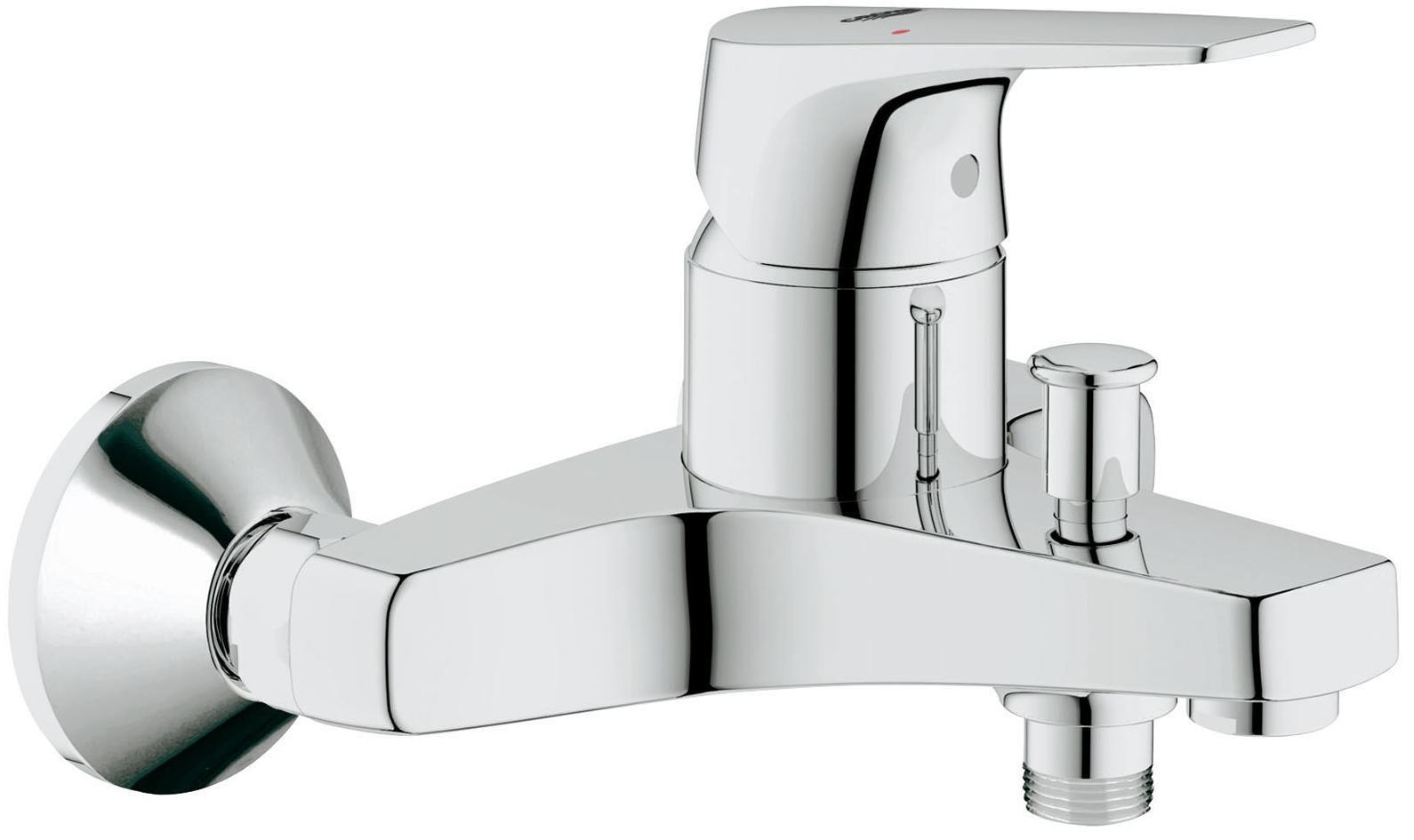 Смеситель для ванны GROHE BauFlow, хром32811000Смеситель для ванны GROHE BauFlow, хром Видео по установке является исключительно информационным. Установка должна проводиться профессионалами!