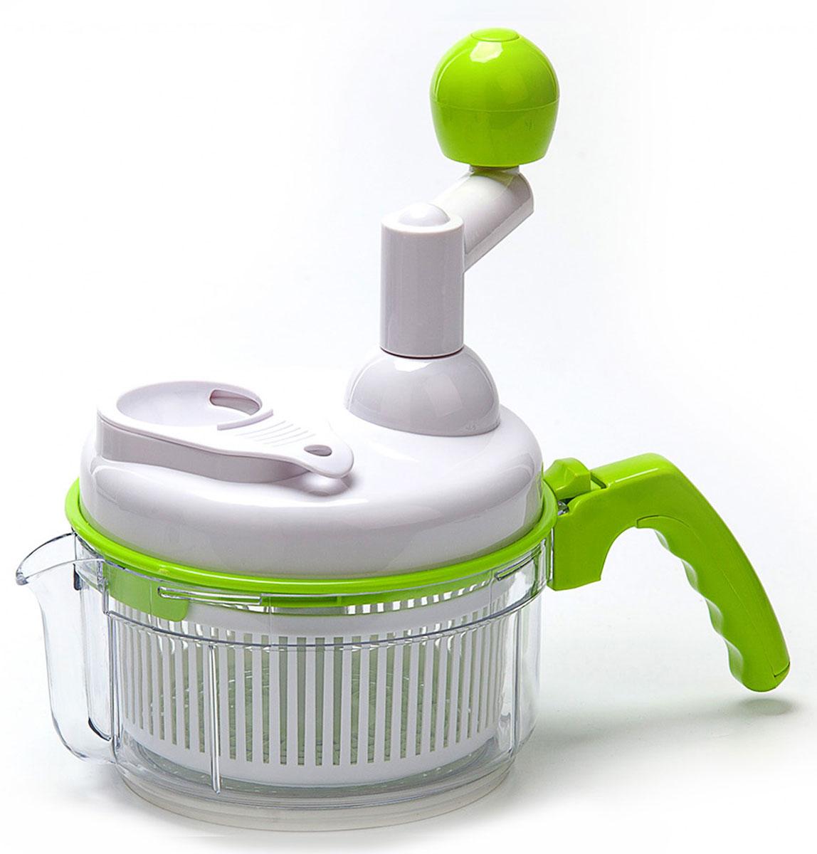 Комбайн кухонный механический «МУЛЬТИ МАСТЕР» BRADEX, TK 0145TK 0145Больше нет необходимости в использовании огромного количества кухонных приспособлений! Комбайн кухонный механический «Мульти Мастер» может ВСЕ! С ним Вы быстро и эффективно приготовите любой фарш или пюре, измельчите овощи и фрукты, замесите тесто или взобьете омлет, сделаете соусы, крем для тортов и даже самые удивительные коктейли, испечете безе таким образом, чтобы даже капелька желтка не попала в массу, приготовите салат с нежнейшей зеленью и вымоете даже самые капризные ягоды, не испортив их, ожидая, пока стечет вода. Преимущества: • Легко хранить и мыть • Никакой грязи, никакого беспорядка, лишь идеальный результат • С помощью «Мульти Мастер» одинаково легко измельчить и перемешать продукты, а также взбивать любые кулинарные смеси • Специальная насадка позволит без труда отделить яичный желток от белка, что так важно при приготовлении многих блюд • Благодаря дуршлагу-контейнеру Вам больше не придется ждать, пока продукты высохнут после мытья • Идеально подходит для...