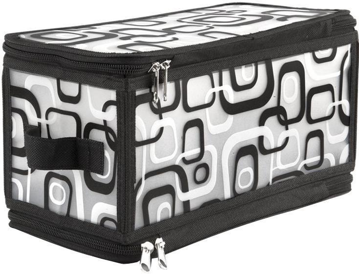 VAL MDR-S Кофр для хранения с застёжкой-молнией, 30*15*15 см, MODERN, цвет: черный