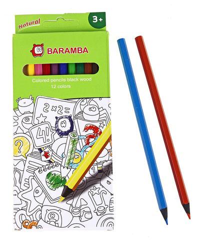 Карандаши деревянные цветные Jovi, 12 цветовB33412Набор деревянных цветных карандашей Jovi состоит из 12 ярких и насыщенных цветов. Эти цветные карандаши помогут раскрыть творческие способности, развить фантазию, подготовить руку к школе. Яркие цвета, прочный грифель. Карандаши уже заточены, поэтому все, что нужно для рисования - это взять чистый лист бумаги, и можно начинать! Не оставляйте вашего ребенка в стороне от творчества!