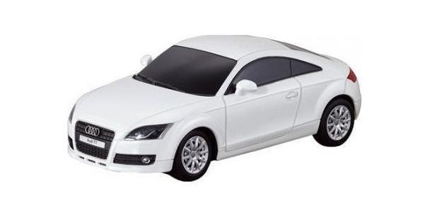 Rastar Радиоуправляемая модель Audi TT цвет серый30700Радиоуправляемая машина Rastar Audi TT в масштабе 1:24 максимально приближена к оригиналу. Управлять данной моделью можно при помощи пульта ДУ, работающего на частоте 27MHz. На пульте Вы найдете кнопки с помощью, которых можно задать направление вперед, назад, вправо, влево. Пульт имеет радиус действия около 12 метров