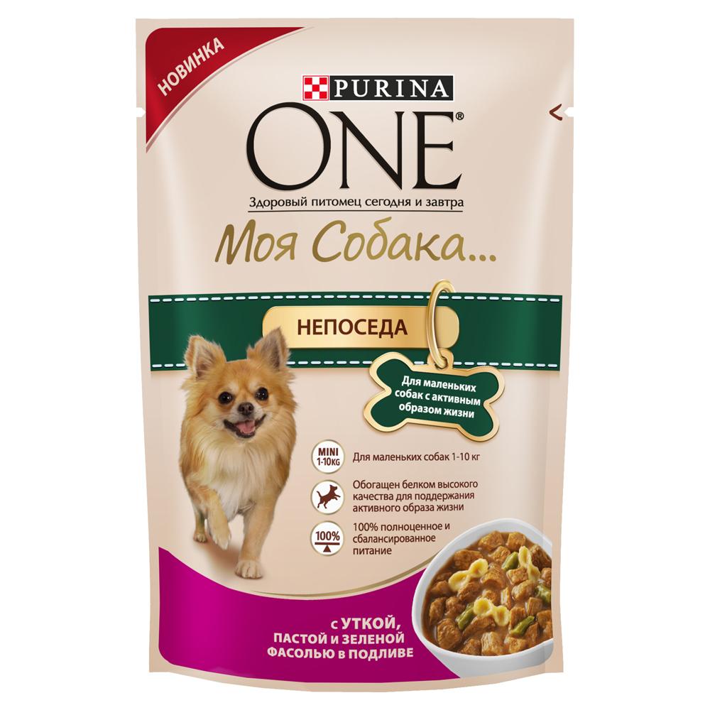 Корм консервированный Purina One Моя Собака...