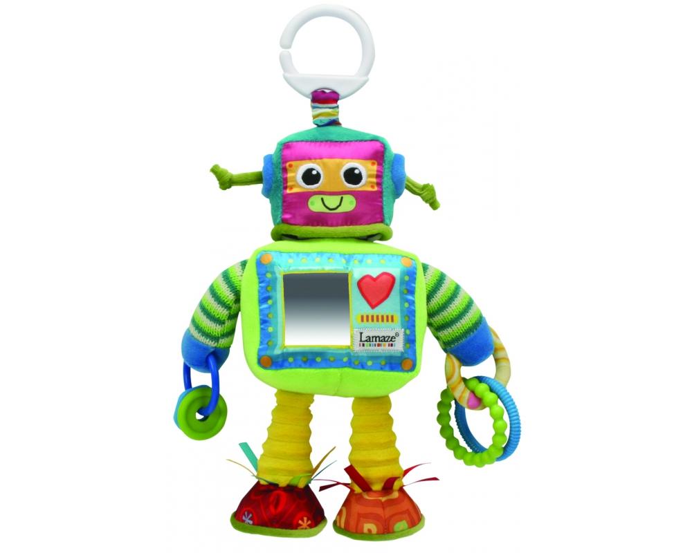 Lamaze Мягкая игрушка-подвеска Робот Расти