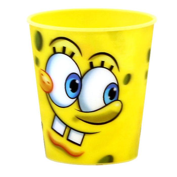 Губка Боб Стаканчик пластмассовый 3D, цвет: желтый, 280 млT280-01YЯркий стаканчик Губка Боб с 3D рисунком доставит вашему малышу массу удовольствия. Изготовлен стаканчик из высококачественного полипропилена желтого цвета. Со стенок стакана вашему малышу улыбается герой любимого мультфильма. Прекрасное дополнение к праздничному столу на детской вечеринке! Такой подарок станет не только приятным, но и практичным сувениром, добавит ярких эмоций вашему ребенку!