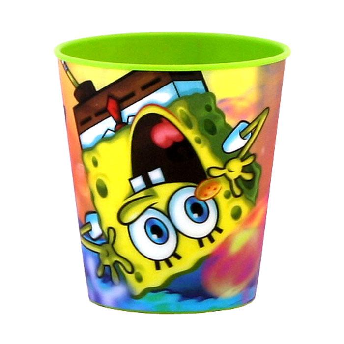 Губка Боб Стаканчик пластмассовый 3D, цвет: зеленый, 280 млT280-01GЯркий стаканчик Губка Боб с 3D рисунком доставит вашему малышу массу удовольствия. Изготовлен стаканчик из высококачественного полипропилена зеленого цвета. Со стенок стакана вашему малышу улыбается герой любимого мультфильма. Прекрасное дополнение к праздничному столу на детской вечеринке! Такой подарок станет не только приятным, но и практичным сувениром, добавит ярких эмоций вашему ребенку!