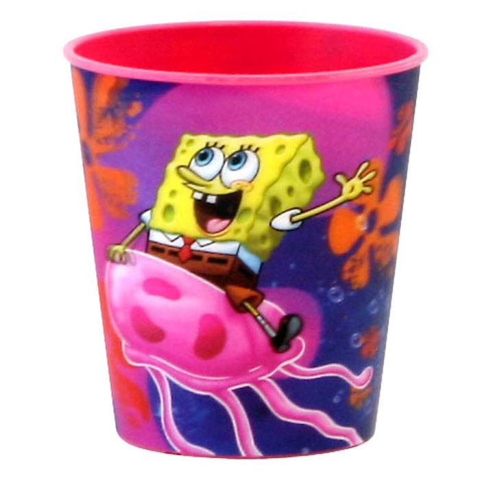 Губка Боб Стаканчик пластмассовый 3D, цвет: розовый, 280 млT280-01RЯркий стаканчик Губка Боб с 3D рисунком доставит вашему малышу массу удовольствия. Изготовлен стаканчик из высококачественного полипропилена розового цвета. Со стенок стакана вашему малышу улыбаются герои любимого мультфильма. Прекрасное дополнение к праздничному столу на детской вечеринке! Такой подарок станет не только приятным, но и практичным сувениром, добавит ярких эмоций вашему ребенку!