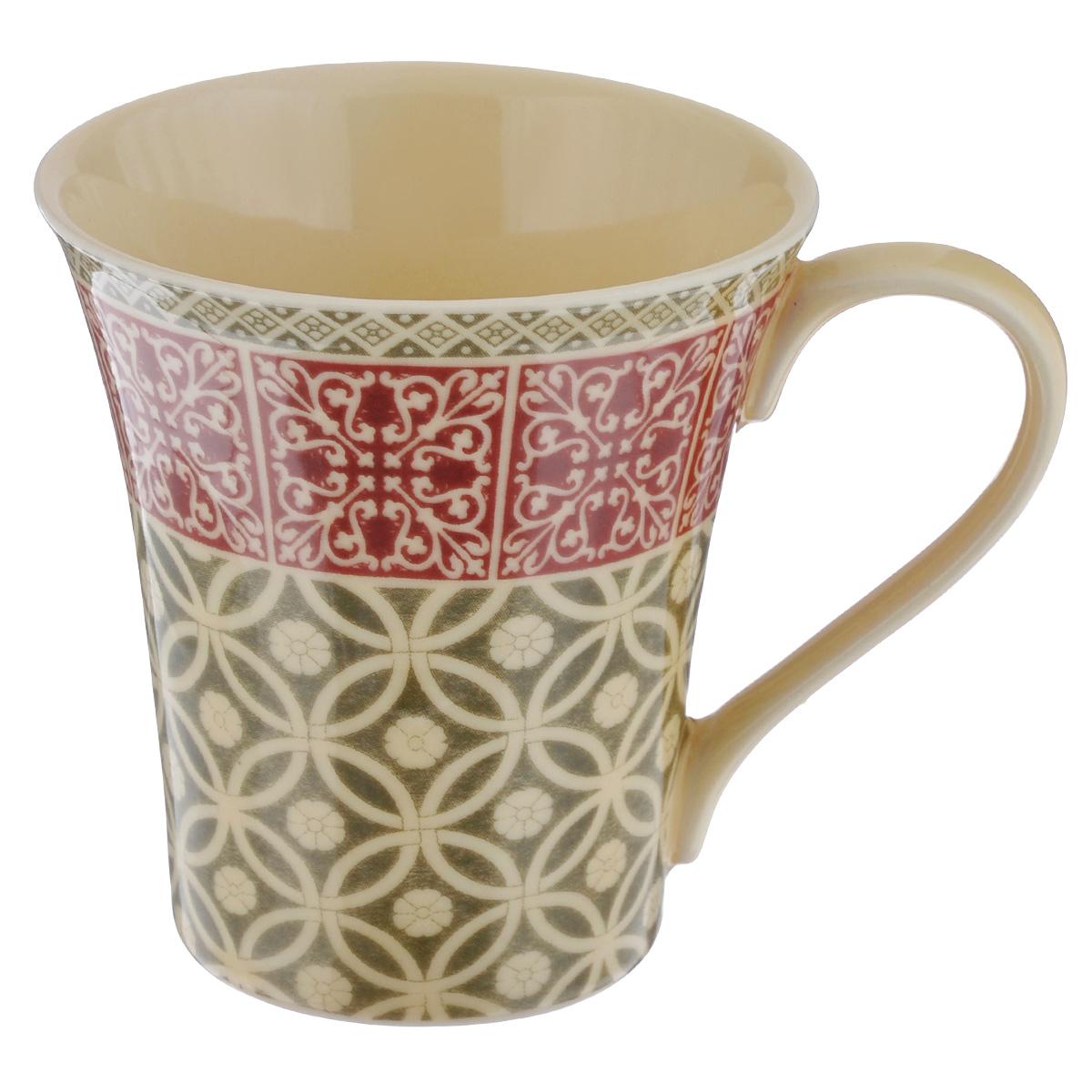 Кружка Utana Альгамбра, 330 млUTAH18701Кружка Utana Альгамбра, выполненная из высококачественной керамики, декорирована орнаментом. Изделие оснащено удобной ручкой. Кружка сочетает в себе оригинальный дизайн и функциональность. Благодаря такой кружке пить напитки будет еще вкуснее. Кружка Utana Альгамбра согреет вас долгими холодными вечерами. Можно использовать в посудомоечной машине и микроволновой печи. Объем: 330 мл. Диаметр (по верхнему краю): 9 см. Высота кружки: 10,5 см.