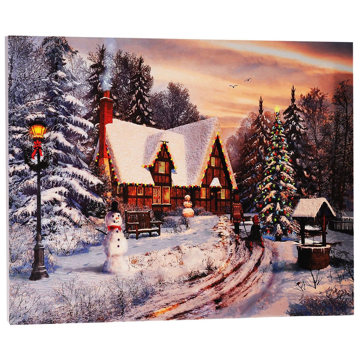 КвикДекор Картина на холсте Старый коттедж, Рождество, 60 см х 40 смAP-00633-22357-Cn6040Картина на холсте КвикДекор Старый коттедж, Рождество - это прекрасное украшение для вашей гостиной или спальни. Она привнесет в интерьер яркий акцент и сделает обстановку комфортной и уютной. Доминик Дэвисон создает свои картины, используя компьютер и 3D-графику. Большое влияние на творчество Дэвисона оказал голландский пейзажист Баренд Корнелис Куккук, именно поэтому в его работах преобладают эстетические мотивы голландской романтической школы. Доминик создает изумительные картины коттеджей, сельских пейзажей и городов. Его работы красивы, выдержаны и обогащены множеством деталей. Работы Доминика опубликованы в журналах 3Д Художники и Фотошоп для продвинутых, также он ведет регулярную рубрику (колонку) в журнале 3Д Художники. Доминик - мастер Vue, программы, широко используемой в архитектуре, анимации, и являющейся важнейшим компонентом рабочего процесса для многих ведущих компаний и студий. Картина на холсте КвикДекор Старый коттедж, Рождество не нуждается в...