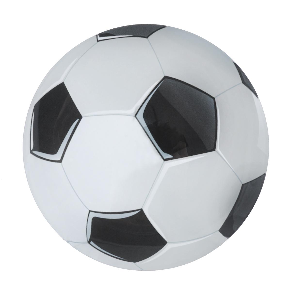 Тарелка Zibo Shelley Футбольный мяч, диаметр 20 смZSFB0008Тарелка Zibo Shelley Футбольный мяч изготовлена из высококачественного стекла. Предназначена для красивой подачи различных блюд. Изделие выполнено в форме мяча. Такая тарелка украсит сервировку стола и подчеркнет прекрасный вкус хозяйки. Можно мыть в посудомоечной машине. Диаметр: 20 см. Высота: 1 см.