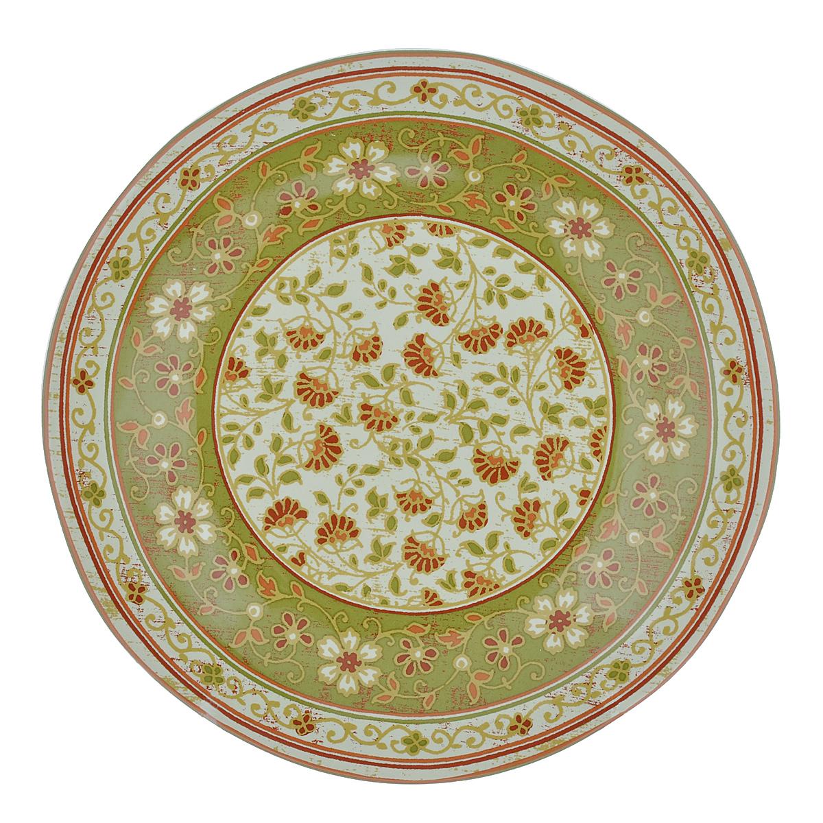 Тарелка десертная Utana Кашмир, диаметр 23,5 смUTG41810Тарелка десертная Utana Кашмир изготовлена из высококачественной керамики. Предназначена для красивой подачи различных блюд. Изделие декорировано цветочным принтом. Такая тарелка украсит сервировку стола и подчеркнет прекрасный вкус хозяйки. Можно мыть в посудомоечной машине и использовать в СВЧ. Диаметр: 23,5 см. Высота: 2,5 см.