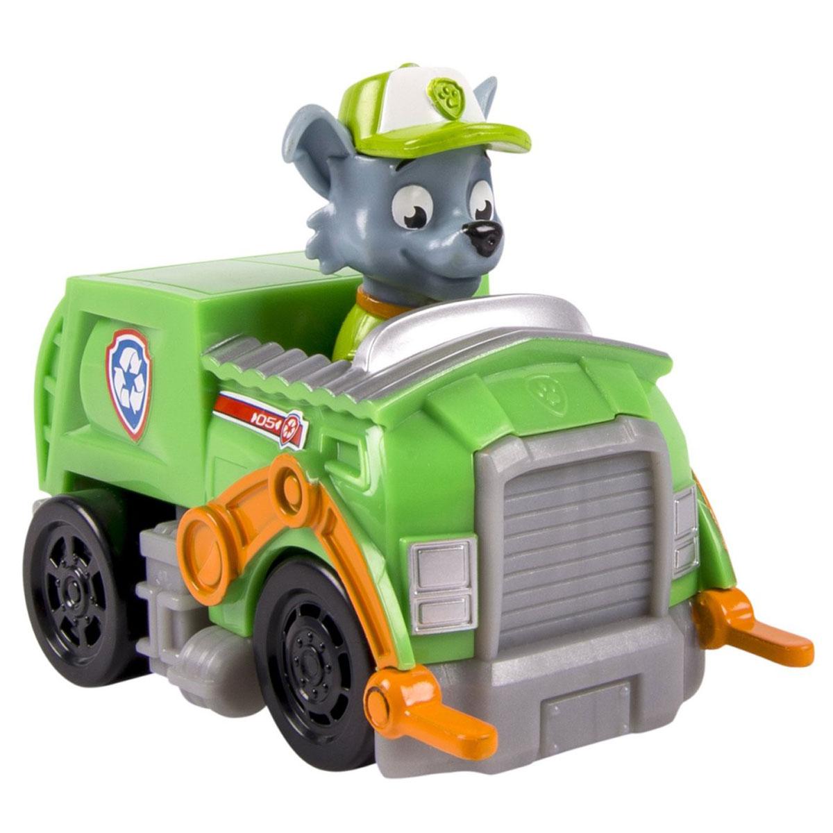 Paw Patrol Игрушка Машинка спасателя. Recycle Truck Rocky16605 Recycle Truck RockyИгрушка Машинка спасателя. Recycle Truck Rocky непременно порадует малыша. Грузовик с героем популярного анимационного мультфильма выполнен из высококачественной пластмассы. Игрушка помогает развивать мелкую моторику, цветовосприятие и воображение. Рекомендуемый возраст: от 2 лет.