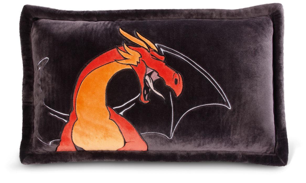 Подушка Красный дракон, 64*42 см37501