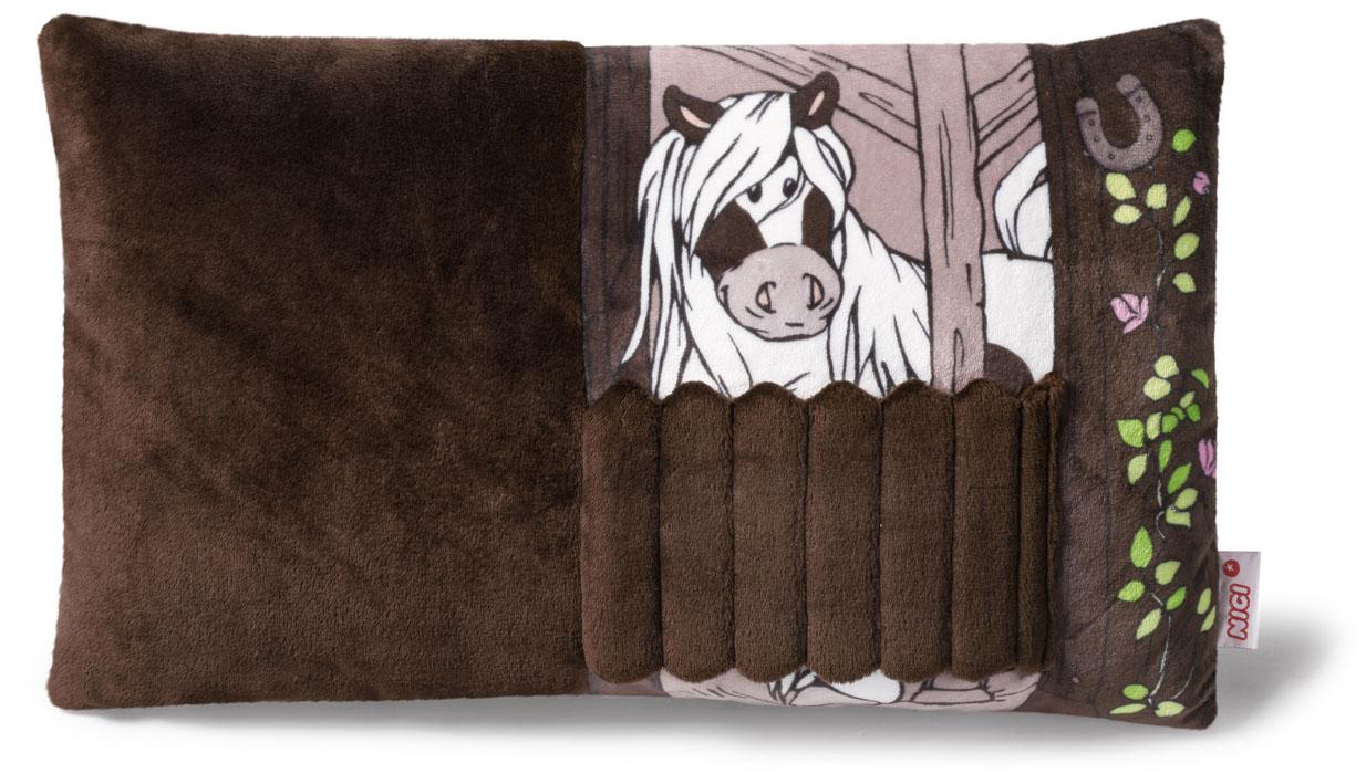Подушка Пони Пунита, 43*25 см, с дверкой стойла37128