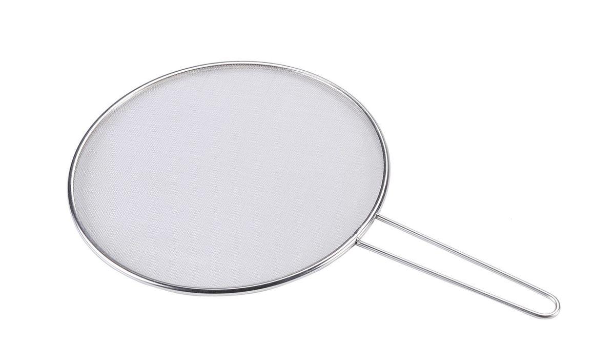 Сетка защитная Bekker, от брызг, диаметр 29 смBK-9201Сетка Bekker выполнена из нержавеющей стали. Достаточно положить сетку на сковороду и можно не беспокоиться о чистоте вашей плиты. Сетка Bekker станет незаменимым помощником на вашей кухне и понравится каждой хозяйке. Диаметр: 29 см.